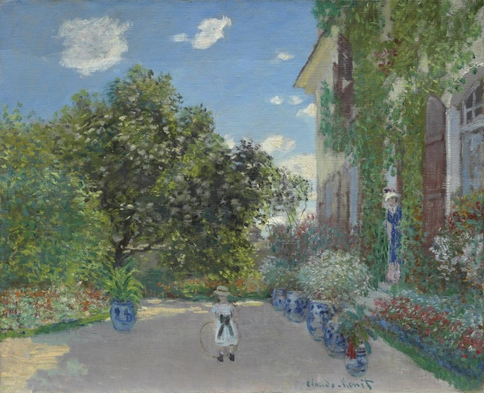 Claude Monet | Artist's House at Argenteuil