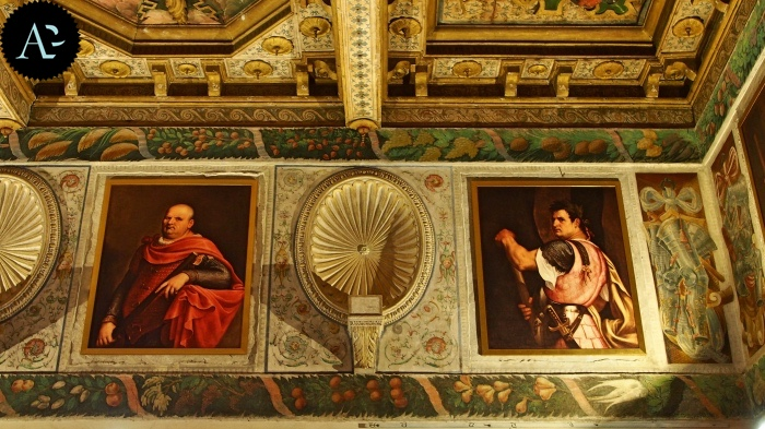 Sabbioneta palazzo Ducale | interno