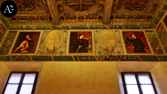 Sabbioneta Ducal Palace decorations