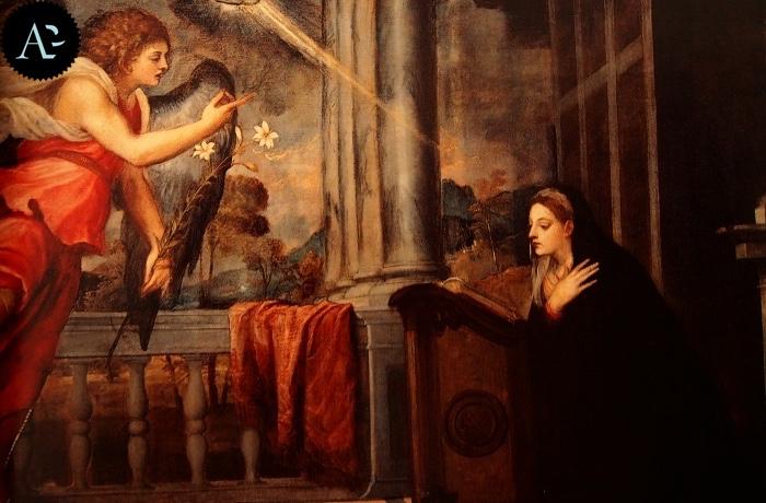 Tiziano Vecellio | Annunciazione