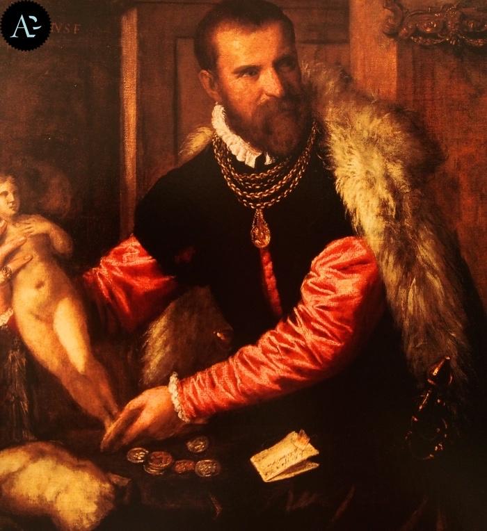 Tiziano Vecellio | Ritratto di Jacopo Strada
