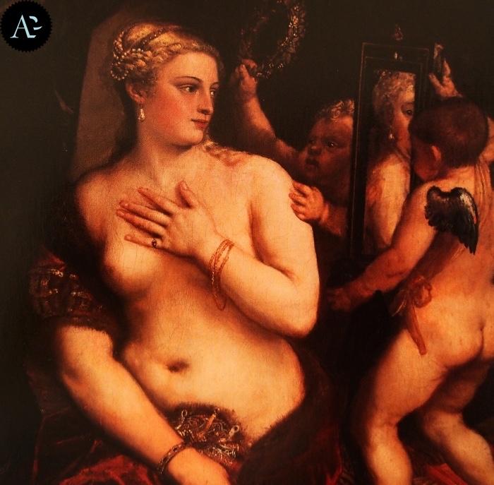 Tiziano Vecellio | Venere allo specchio