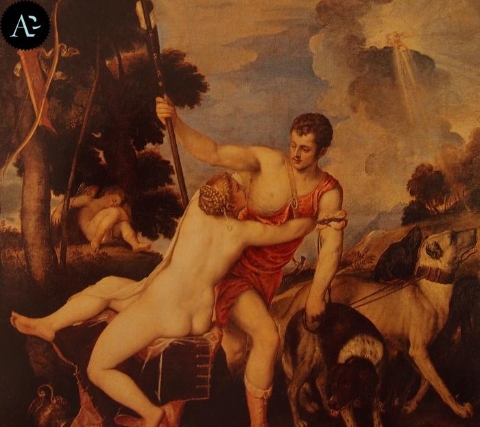 Tiziano Vecellio | Venere e Adone