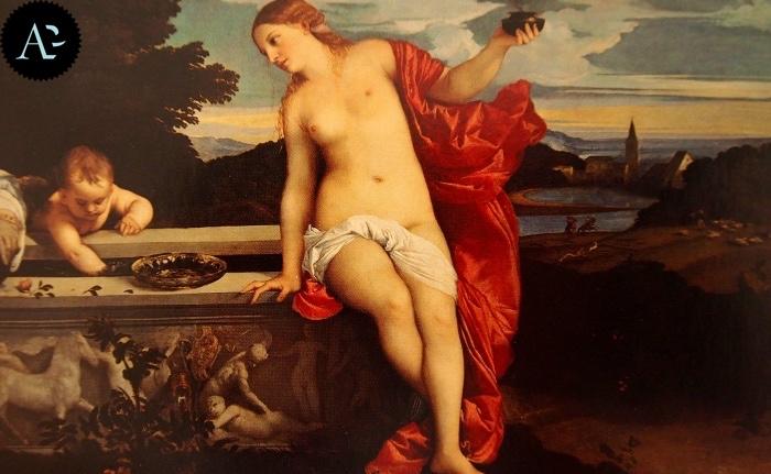 Tiziano Vecellio | Amor Sacro e Amor Profano
