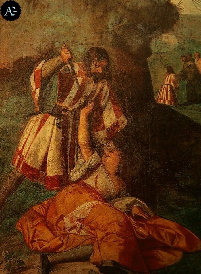 Tiziano Vecellio |  Miracolo del marito geloso