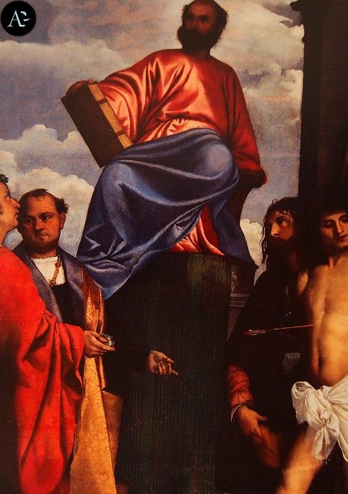Tiziano Vecellio | San Marco in trono