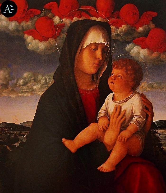 Giovanni Bellini | Madonna dei Cherubini rossi