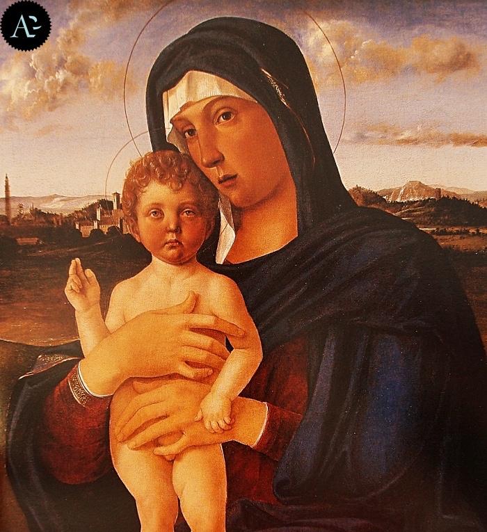 Giovanni Bellini | Madonna col Figlio benedicente