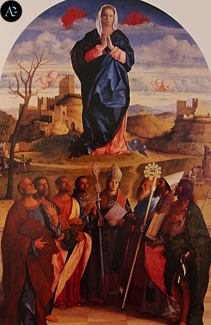 Giovanni Bellini | Madonna in gloria con Santi