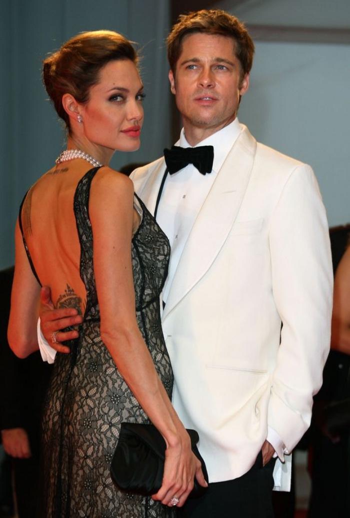 Brad Pitt e Angelina Jolie | mostra cinema Venezia