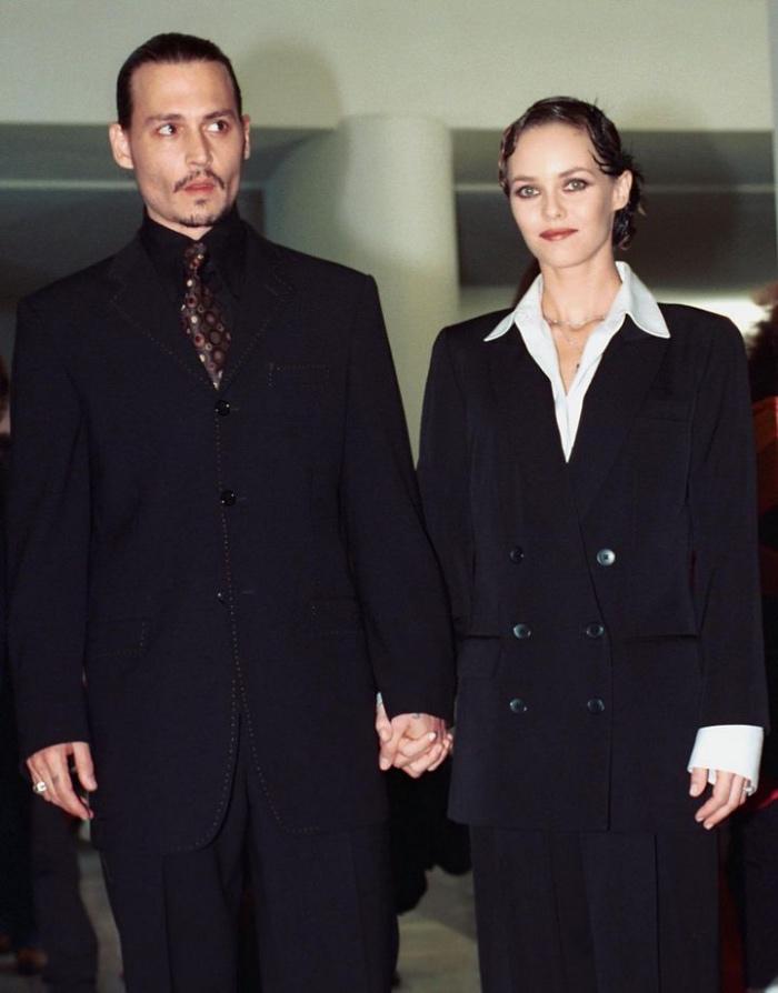 ohnny Depp e Vanessa Paradis | mostra del Cinema di Venezia
