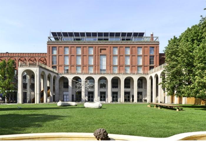 the Palazzo dell'Arte   Milan