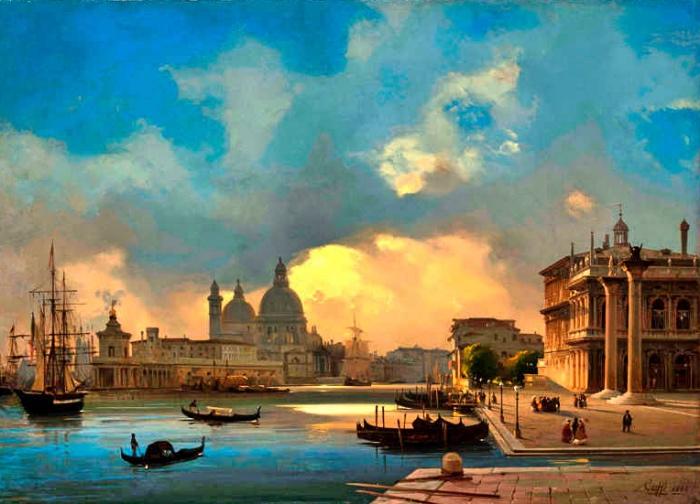 Ippolito Caffi | mostre Venezia