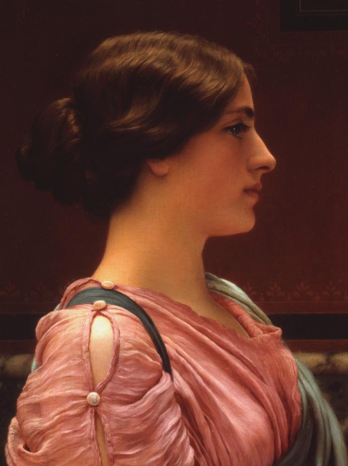 John William Godward | A Classical Beauty