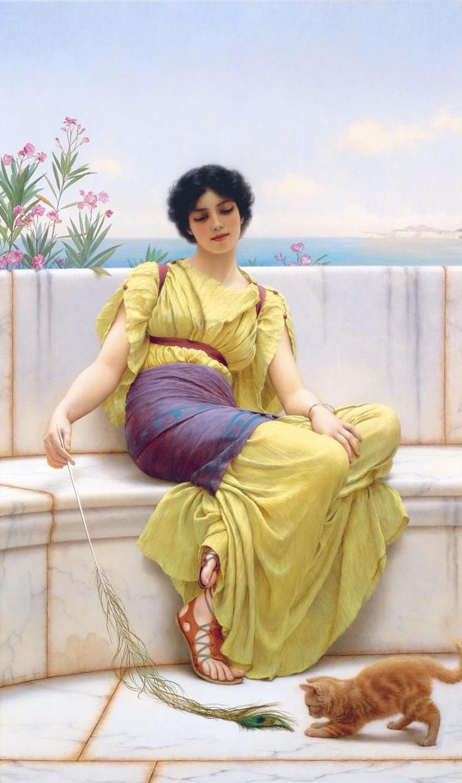 John William Godward S Paintings