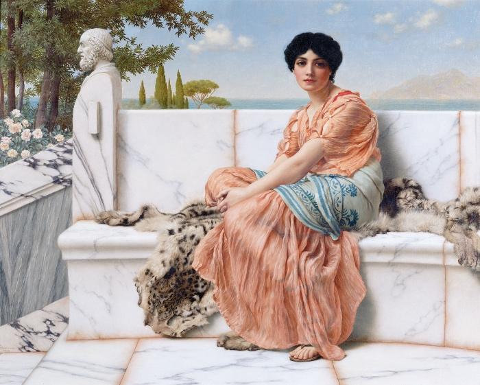John William Godward | In the Days of Sappho