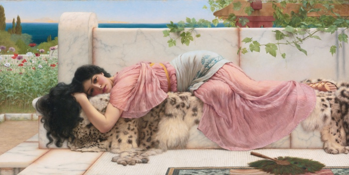 When the heart is young | John William Godward