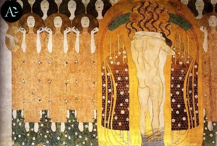 Gustav Klimt | The Beethoven frieze