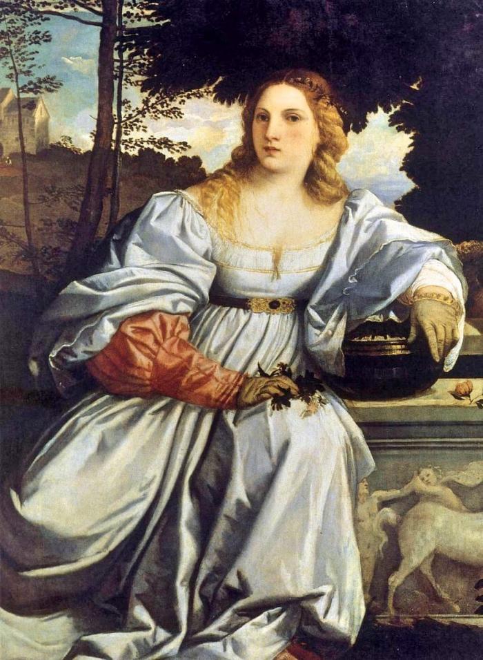 Tiziano | Amor sacro
