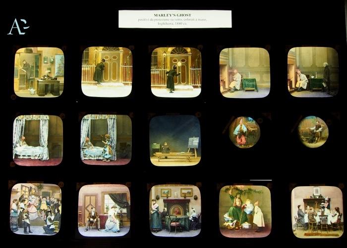 vetri dipinti a mano | Museo Precinema