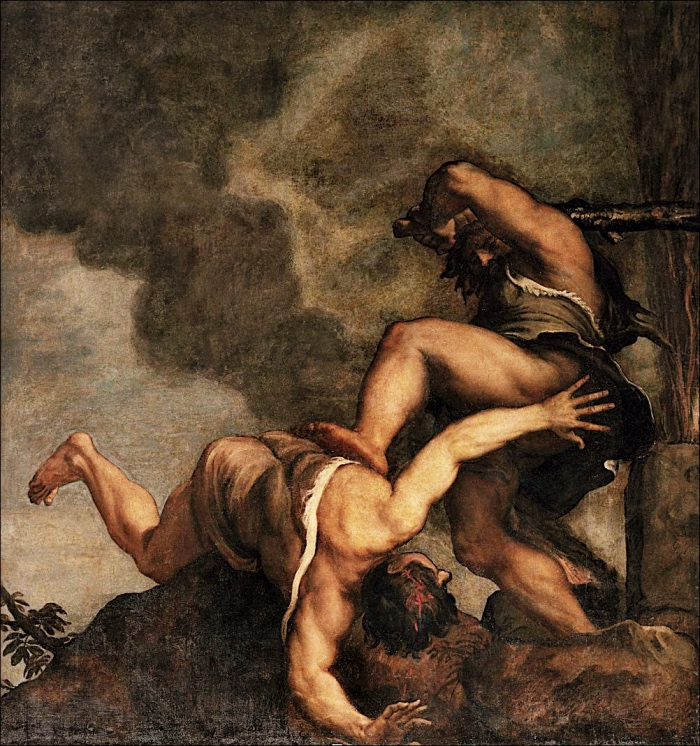 Caino e Abele | Tiziano Vecellio