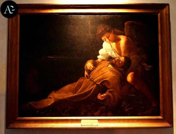 Caravaggio | San Francesco riceve le stigmate