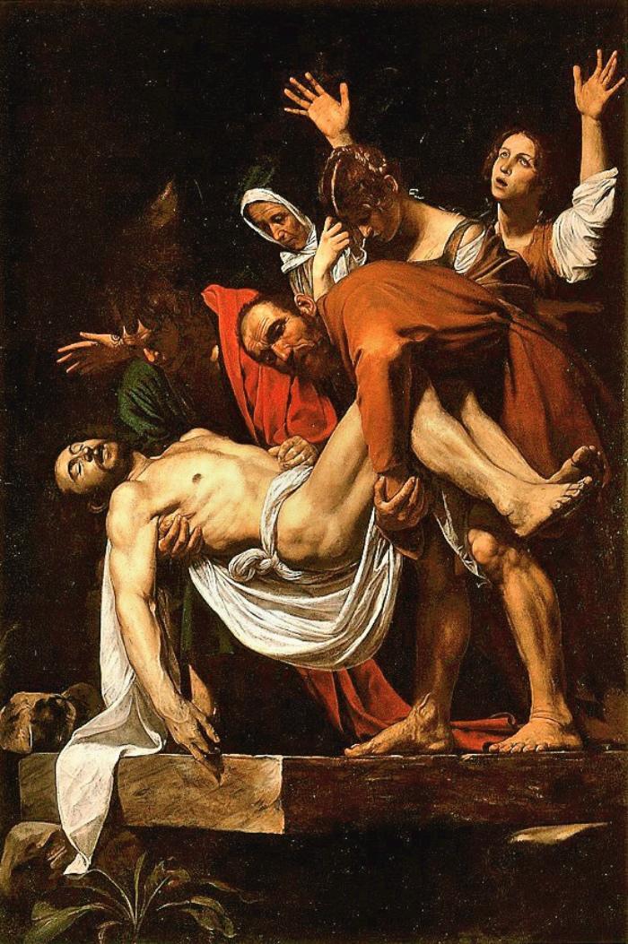 Caravaggio | Deposizione nel sepolcro