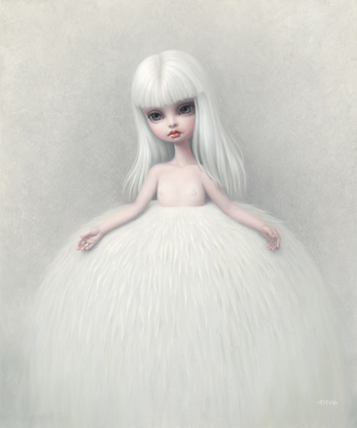 Girl in a Fur Skirt | Mark Ryden