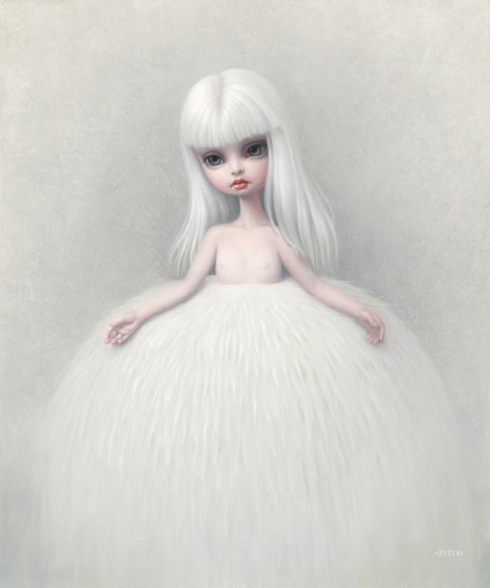 Girl in a Fur Skirt | Mark Ryden