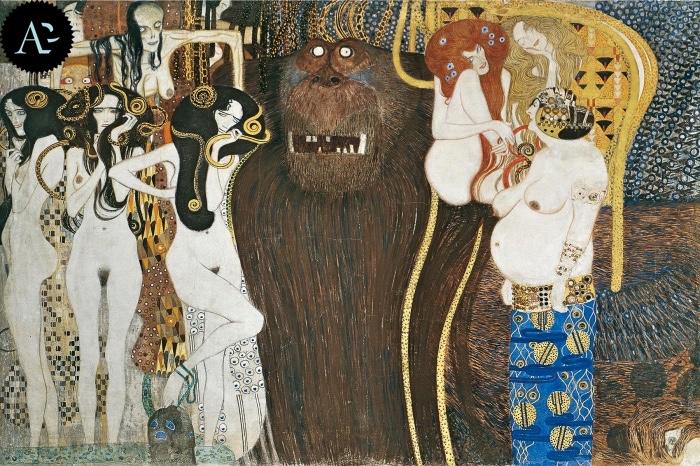 Gustav Klimt | Fregio di Beethoven
