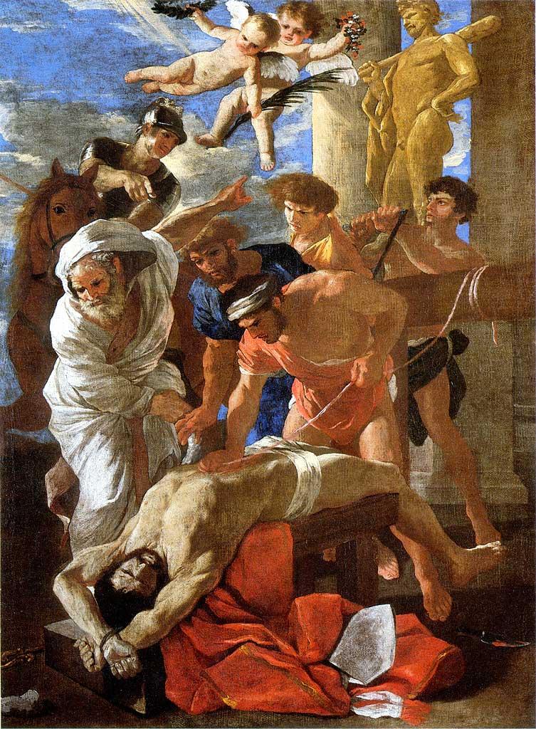 Nicolas Poussin   Martirio di Sant'Erasmo
