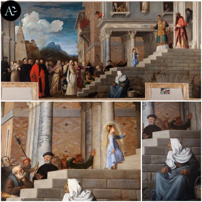 Presentazione di Maria al Tempio | Tiziano