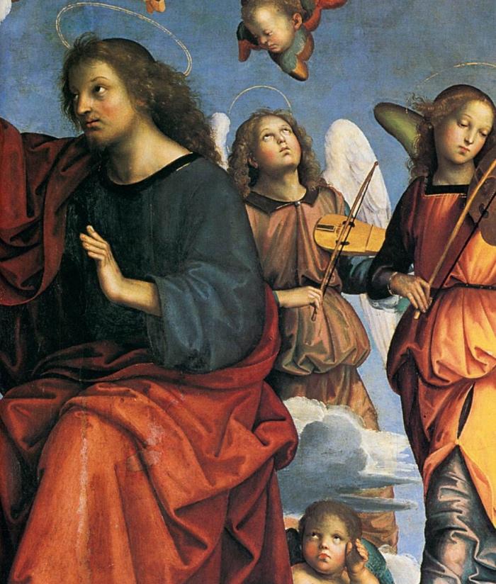Raffaello Sanzio   Incoronazione della Vergine