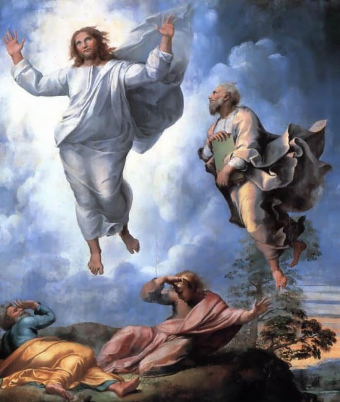 Raffaello Sanzio   Trasfigurazione di Cristo