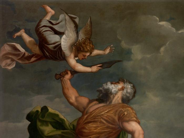 Sacrificio di Isacco | Tiziano Vecellio