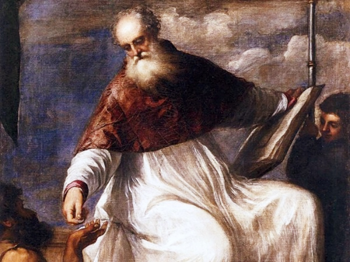 San Giovanni Elemosinario | Tiziano Vecellio