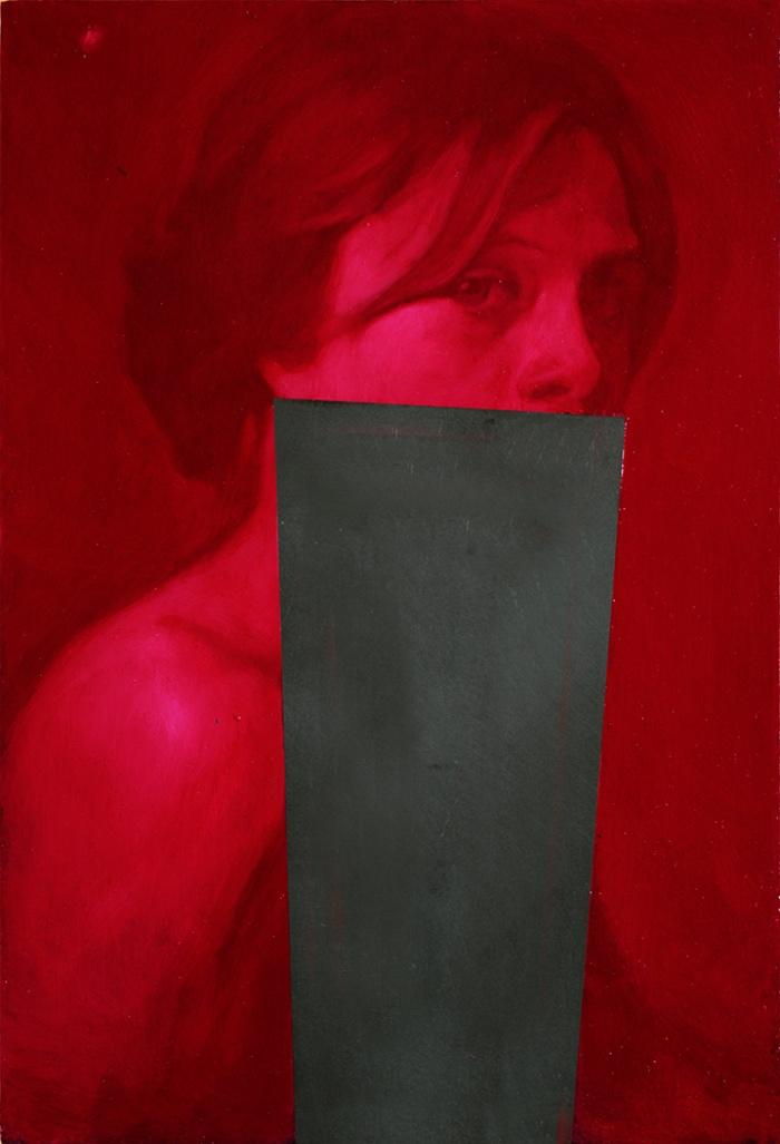 Simone Geraci | ritratto su ardesia