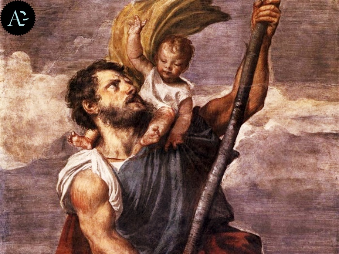 San Cristoforo | Tiziano Vecellio