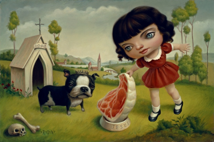 Mark Ryden | a dog named jesus