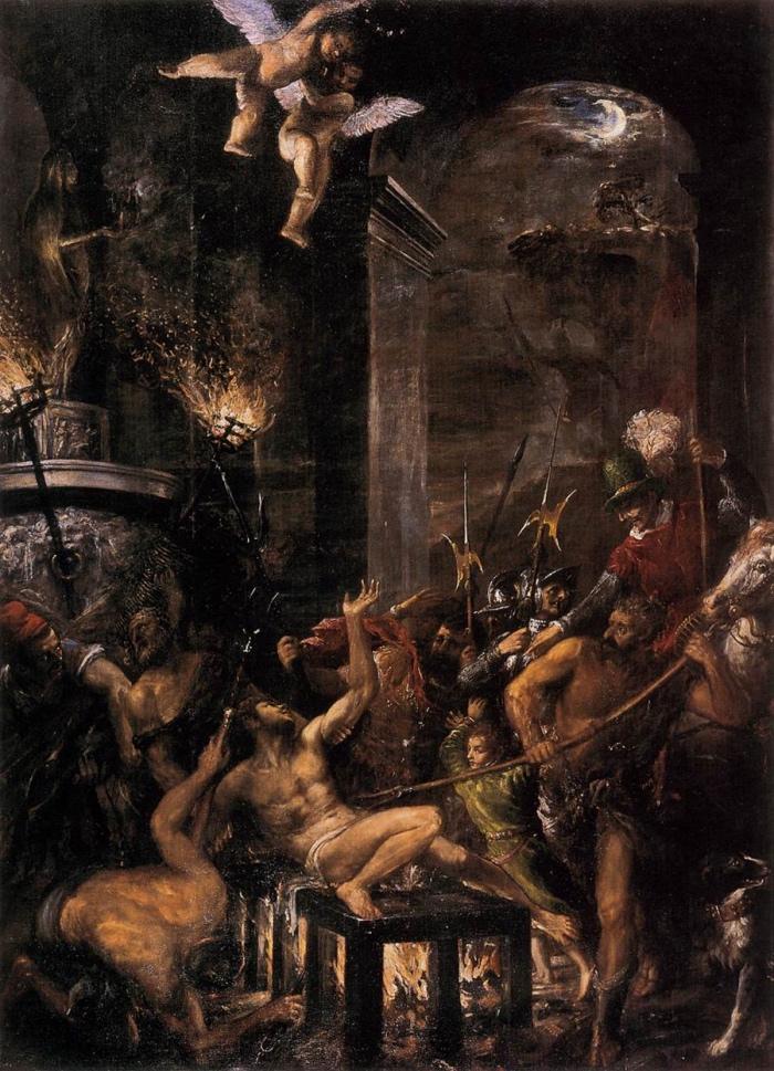 Martirio di San Lorenzo | Tiziano