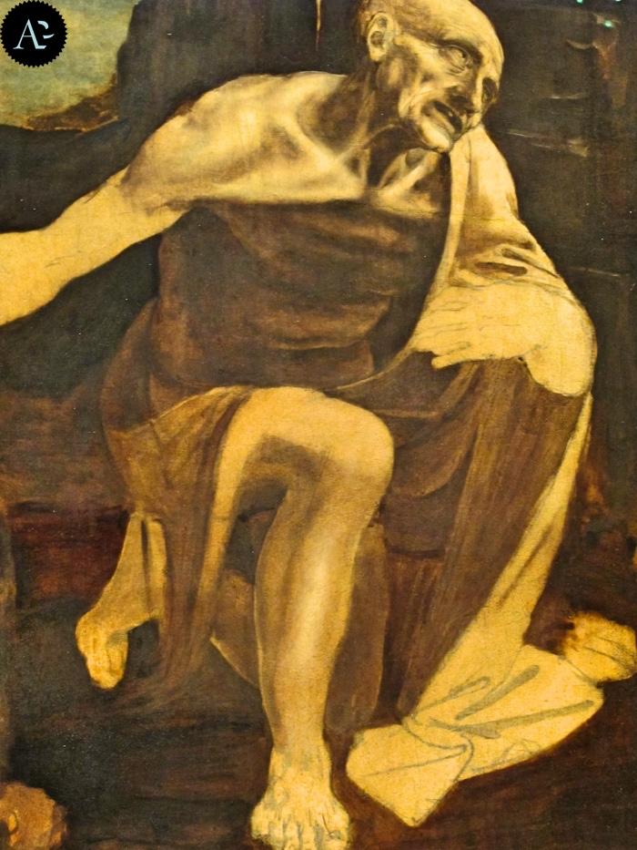 Leonardo da Vinci   San Girolamo