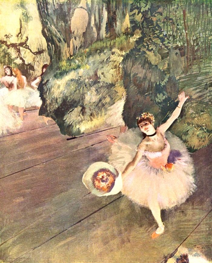 Edgar Degas | ballerina