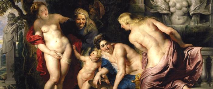 Rubens | Ritrovamento di Erittonio