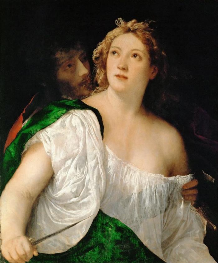 Tiziano Vecellio | Il suicidio di Lucrezia