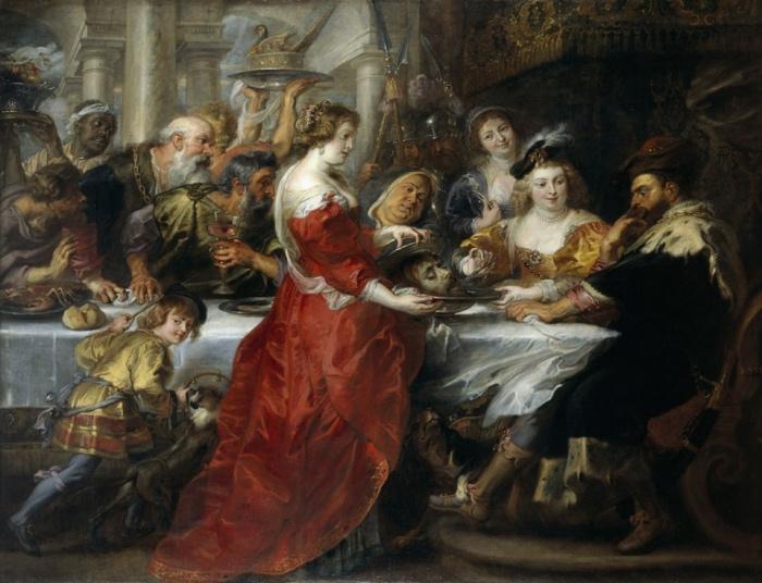 Pieter Paul Rubens | Banchetto di Erode,