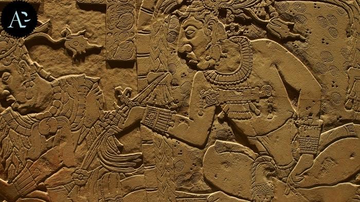 Maya | bassorilievo | mostre Verona