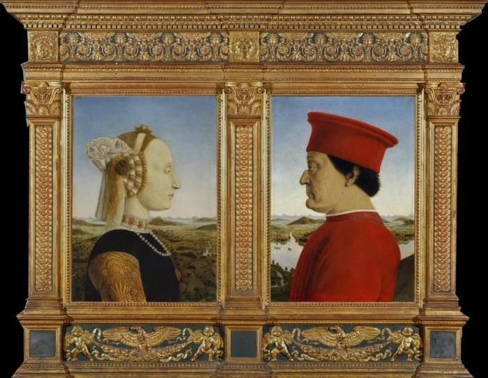 Piero della Francesca | duchi di Urbino