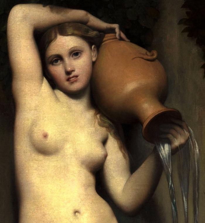 Jean-Auguste-Dominique Ingres | La Sorgente