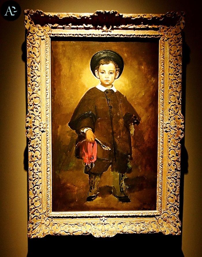 Manet | ritratto di bambino