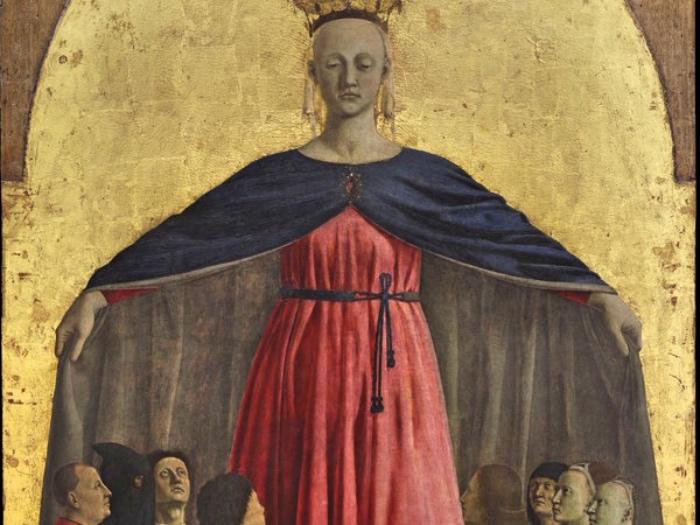 Piero della Francesca | Madonna della Francesca | dettaglio